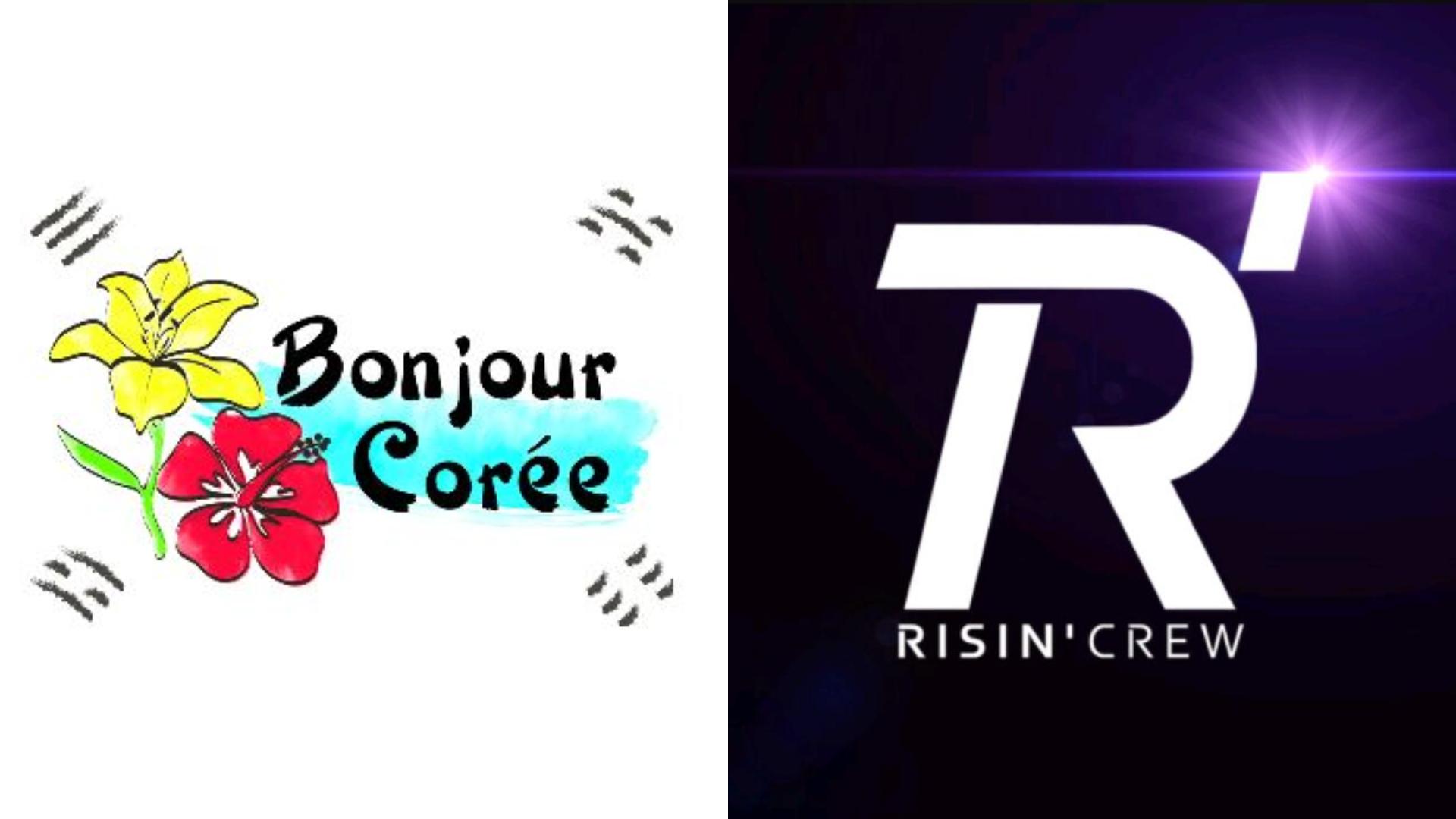 Le Groupe De Danse Risin Crew Rejoint Bonjour Corée